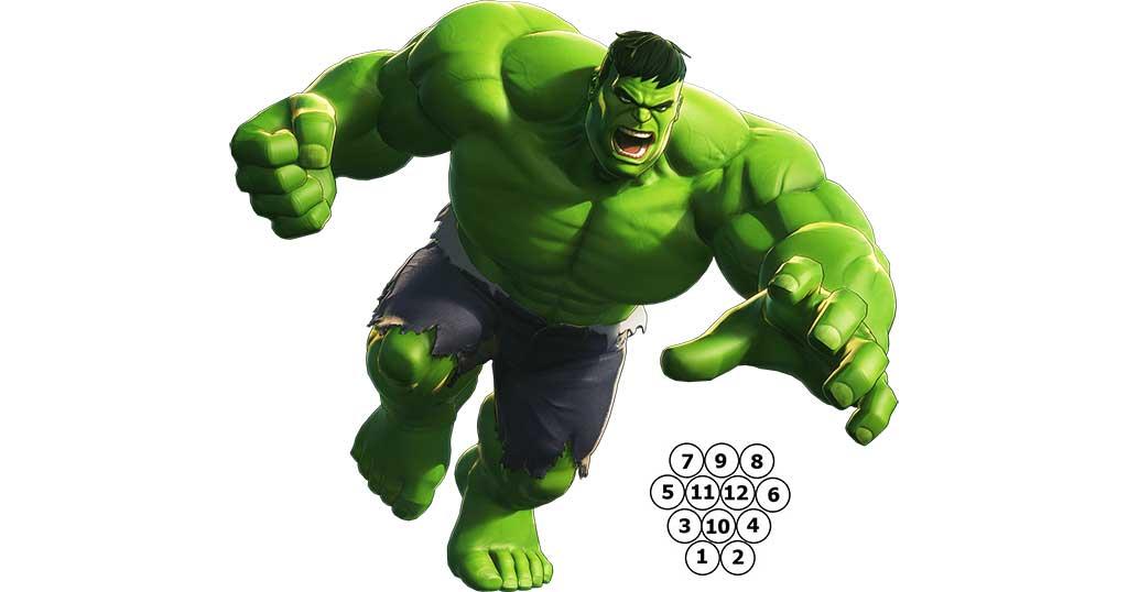 Hulk se fait plaisir au Molkky